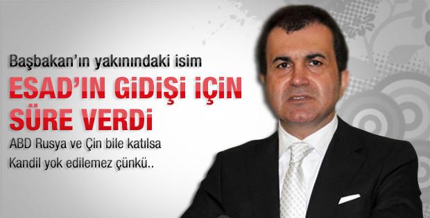 AK Partili Çelik: Esad 1 yıl içinde gidecek