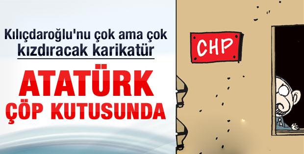 Akşam'dan Kılıçdaroğlu'nu çıldırtacak karikatür