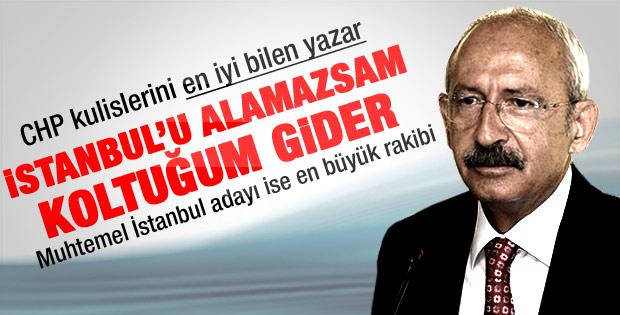 CHP ve Kılıçdaroğlu'nun çok gizli İstanbul planı