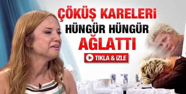 Ayşe Özyılmazel Nurseli İdiz'e ağladı - Video