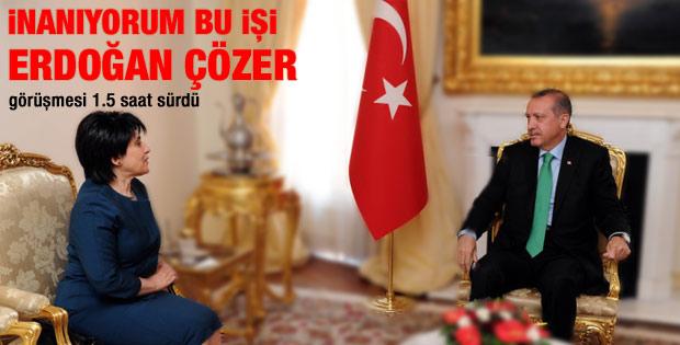 Erdoğan Zana görüşmesi sona erdi