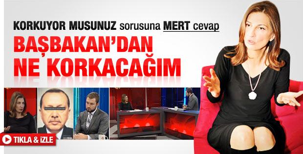 Nuray Mert Erdoğan'dan çekiniyor mu