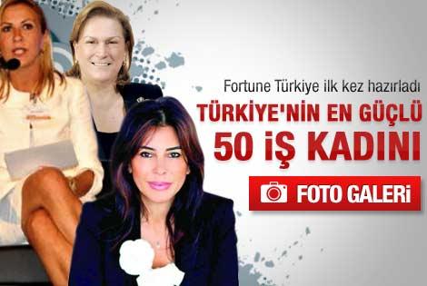 Türkiye'nin en güçlü 50 iş kadını