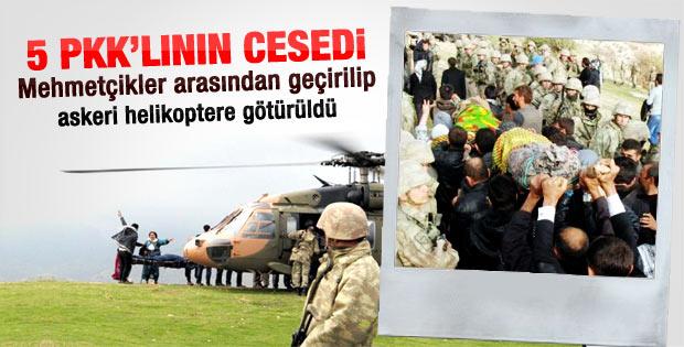 PKK'lı cenazelerini vermek için şart koştular