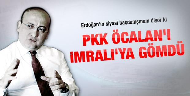 Akdoğan: PKK Öcalan'ı İmralı'ya gömdü