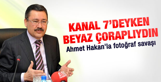 Ahmet Hakan ile Gökçek'in fotoğraf savaşı