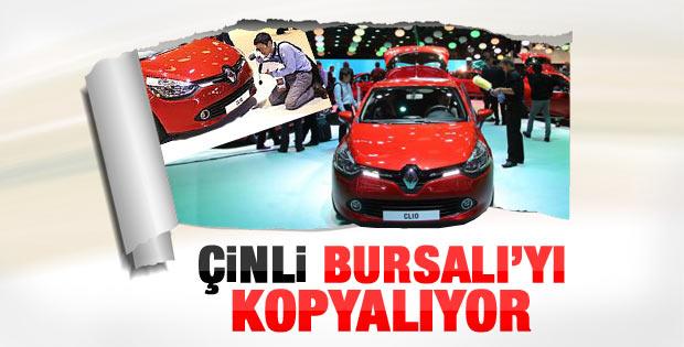 Çinliler Paris'te Bursalı Renault Clio'yu kopyalıyor