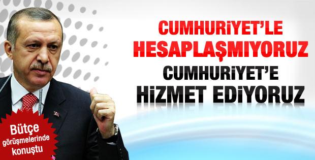 Başbakan Erdoğan'ın bütçe görüşmeleri konuşması