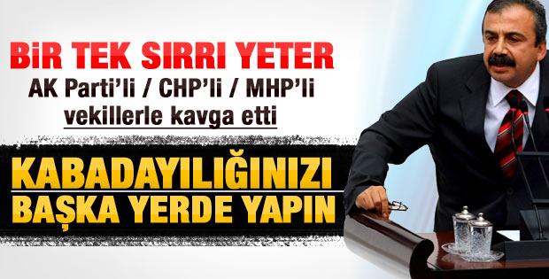 BDP'li vekilin Meclis'i karıştıran Atatürk çıkışı