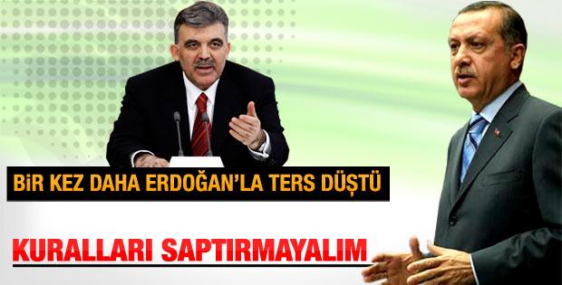Cumhurbaşkanı Gül'den Meclis'i eksiltmeyin mesajı