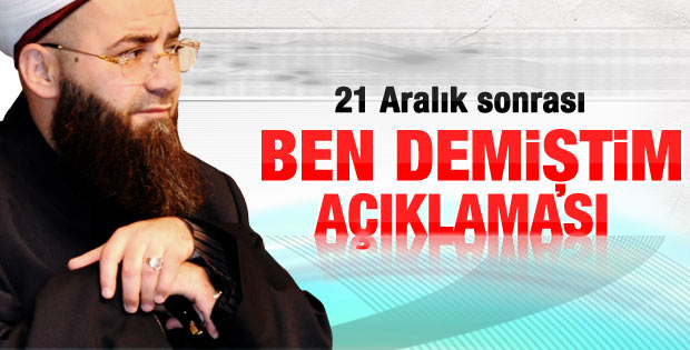Cübbeli Ahmet'ten 21 Aralık açıklaması