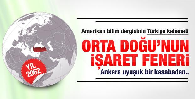 Amerikan dergisinin 2062 Türkiye kehaneti