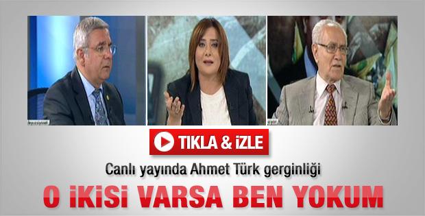Canlı yayında Ahmet Türk tartışması - izle