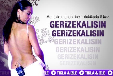 Hülya Avşar'dan muhabire gerizekalı hakareti - Video