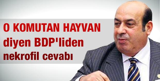 Hasip Kaplan'dan Erdoğan'a sert nekrofil yanıtı