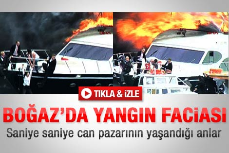 İstanbul'da deniz kazası