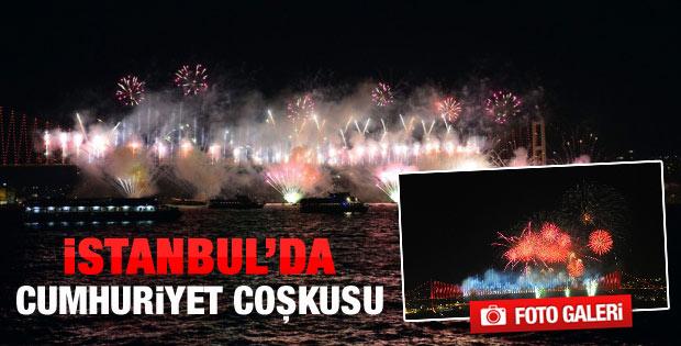 İstanbul'da Cumhuriyet coşkusu - Video