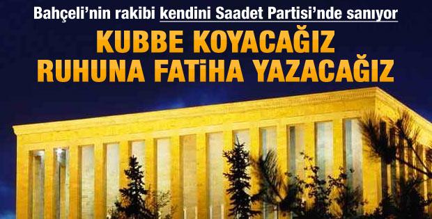 MHP genel başkan adayından Anıtkabir çıkışı