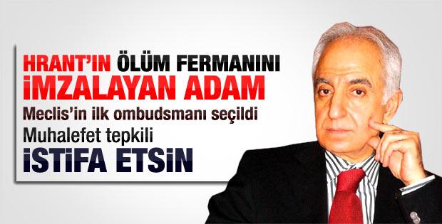 Hrant Dink'in kardeşi ombudsman seçimine isyan etti