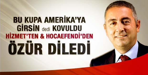 Ergun Babahan Star gazetesinden de kovuldu