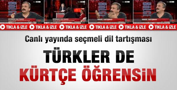 Sırrı Süreyya Önder: Türkler de Kürtçe öğrensin