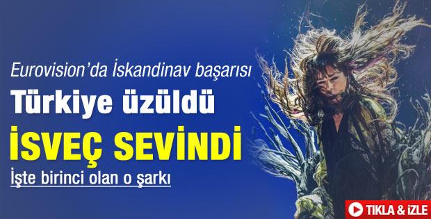 Eurovision'da Türkiye üzüldü İsveç rekor kırdı