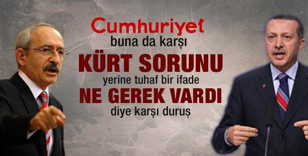 Cumhuriyet Kürt sorunu demedi