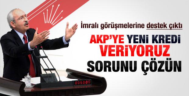 Kılıçdaroğlu'ndan İmralı'yla görüşmelere ilk tepki