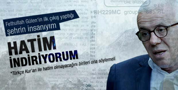 Ertuğrul Özkök: Bir Beyaz Türk'ün hatim indirişi
