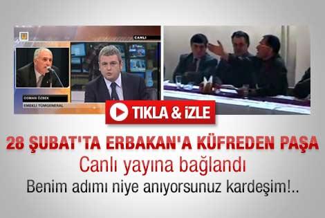 Ülke TV'de Osman Özbek ve Ersoy Dede tartışması