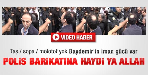 Diyarbakır'da BDP'li vekiller polisle çatıştı