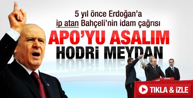 Devlet Bahçeli'den Erdoğan'a idam tepkisi