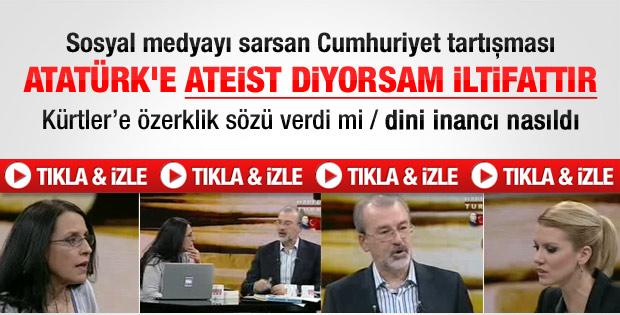 Ayşe Hür'le Cevizoğlu'nun Cumhuriyet tartışması - izle