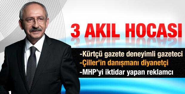 Kılıçdaroğlu'nun danışmanları kimler