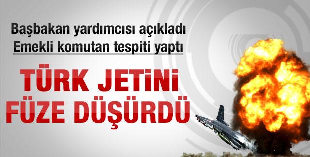 Türk jetinin düşme nedeni açıklandı