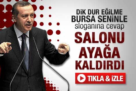 Erdoğan'ın Bursa Olağan Kongresi konuşması