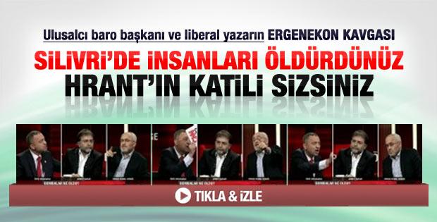 Canlı yayında Ergenekon ve Hrant Dink kavgası