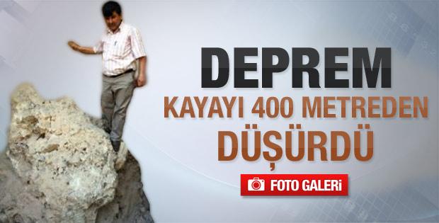 Deprem kayayı 400 metreden düşürdü - Galeri