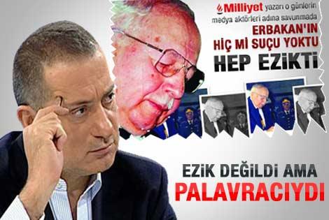Altaylı: Erbakan hiçbir zaman ezik olmadı