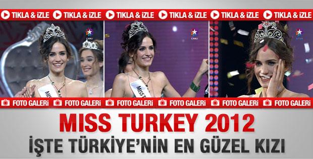 Miss Turkey 2012'nin güzeli Açelya Samyeli Danoğlu