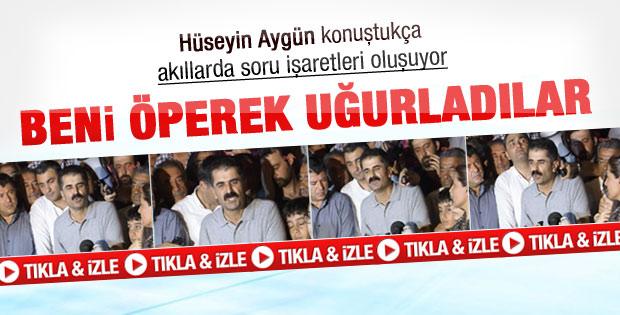 Hüseyin Aygün basın açıklaması yaptı-Video