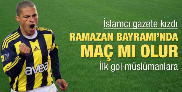 Milli Gazete kızdı: Ramazan Bayramı'nda maç mı olur