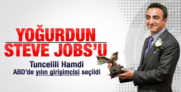 ABD'nin en prestijli ödülü Tuncelili Hamdi Ulukaya'ya