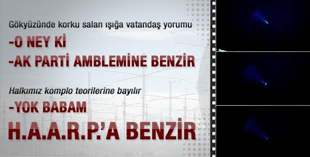 Erzurum ve Iğdır'ı korkutan ışığın sırrı-İzleyin