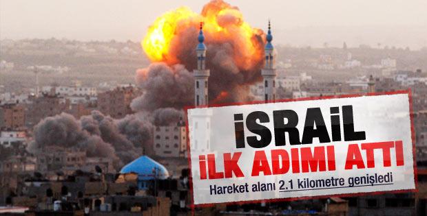 İsrail Gazze'ye kısıtlamayı gevşetti