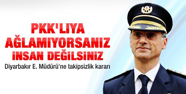 Diyarbakır Emniyet Müdürü'ne takipsizlik