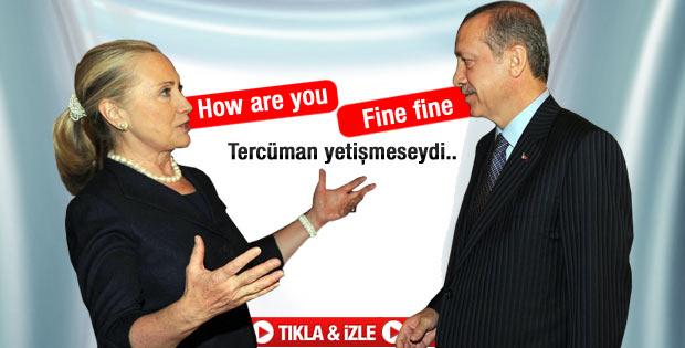 Erdoğan Hillary Clinton'u kabul etti - Video