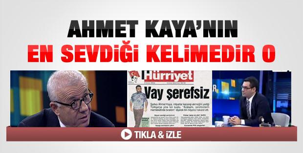 Özkök: Ahmet Kaya'ya neden şerefsiz dedim