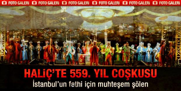 İstanbul'un Fethi coşku ile kutlandı - galeri