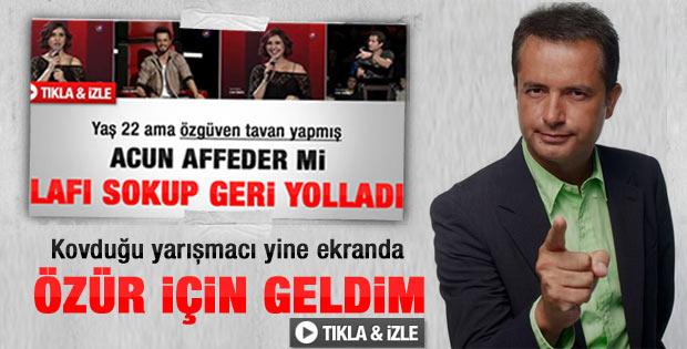 Acun'un kovduğu Nur Cennet O Ses Türkiye'de - Video